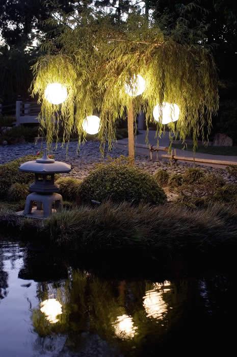 EBM japanese garden lanterns