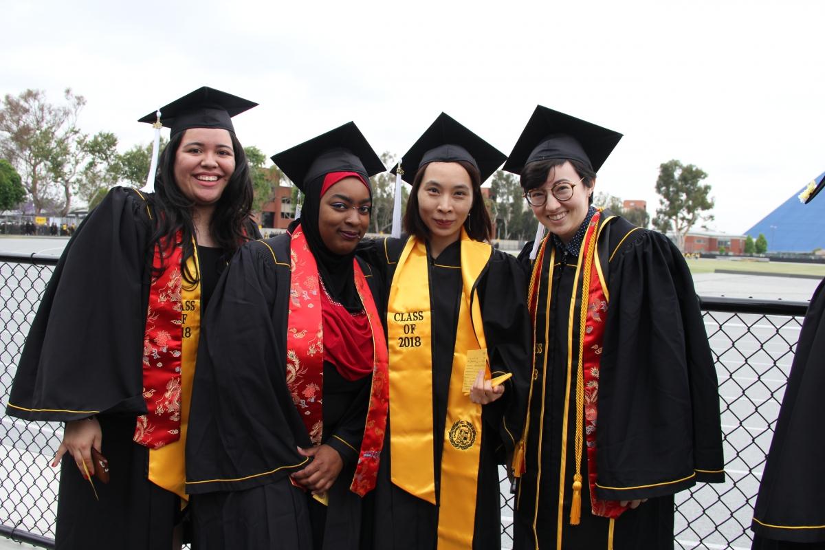 Graduating 2018 JAPN Students