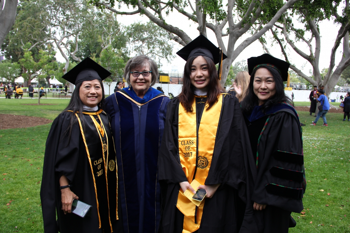 Class of 2017 Graduating MA Students & Faculty