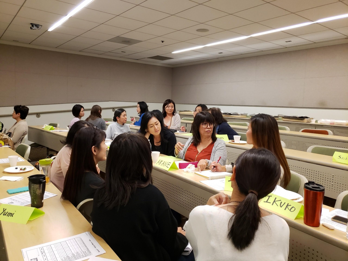 Japanese Heritage Language Workshop which took place May 5, 2019.
