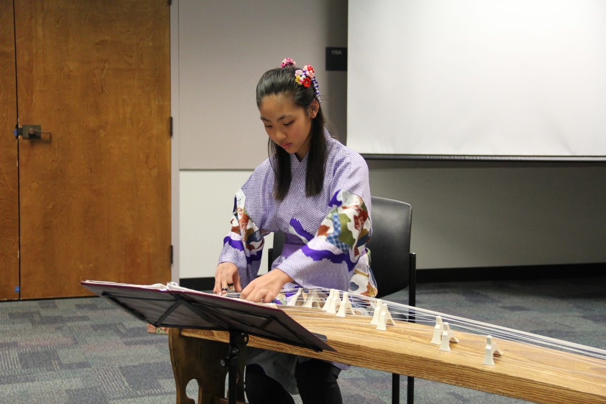 Koto Performance by Emily Kinaga Wong