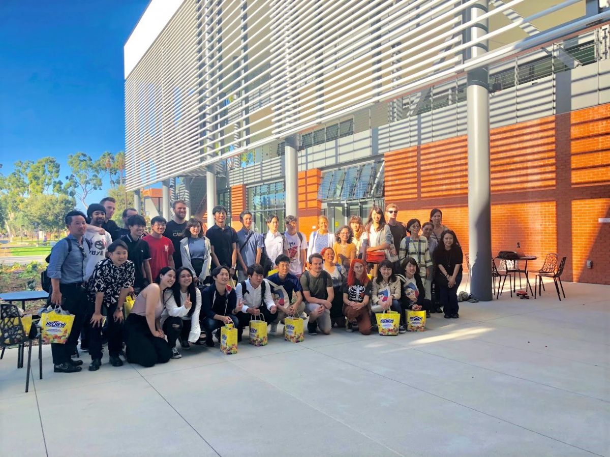 Group Photo with Meiji University students from Japan & CSULB students, September 10, 2018