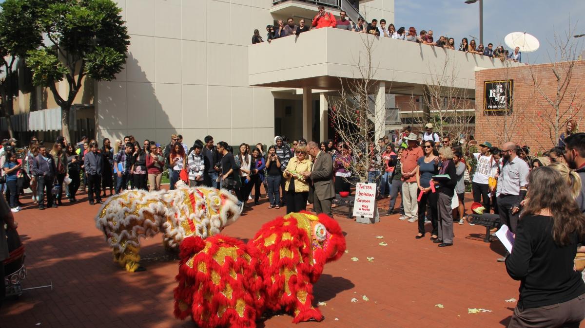 CSULB Lion Dance Performance, 03.10.15