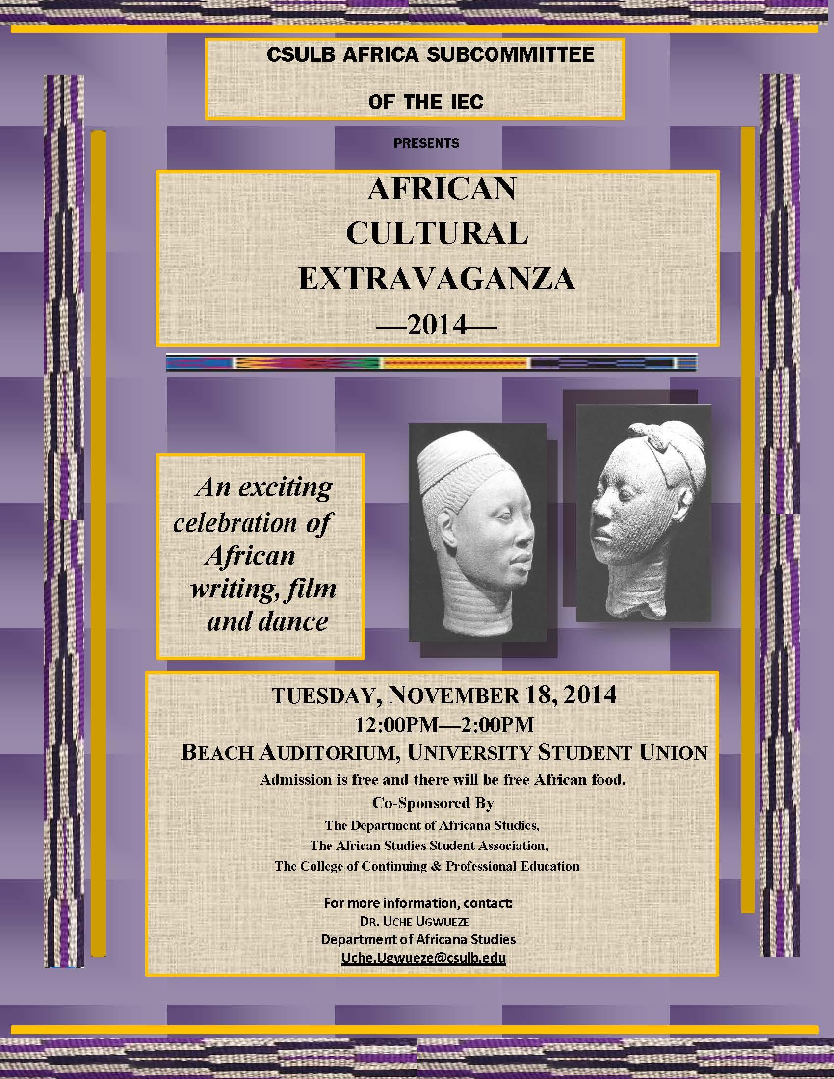 African Cultural Extravaganza 2014