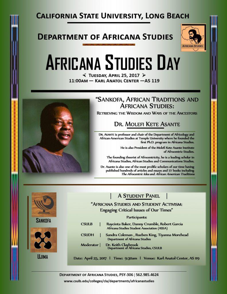 Africana Studies Day 04-25-17