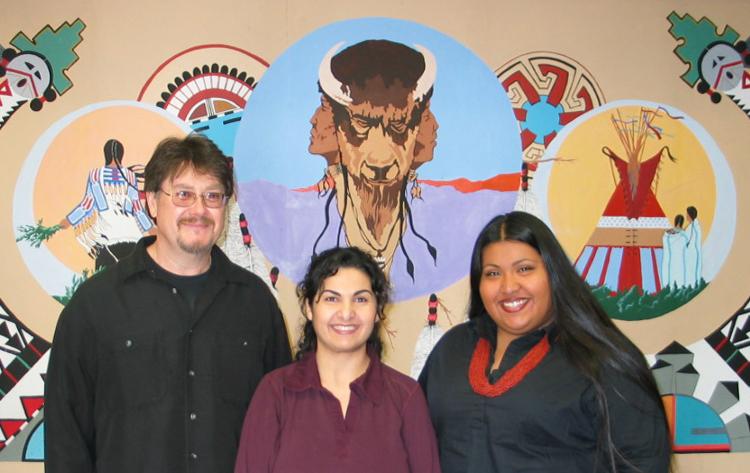 Craig Stone, Anna Nazarian and Beckie Sanchez