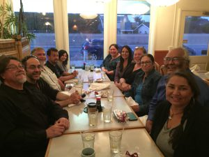 Welcome Dinner for New AIS Associate Professor Dr. Theresa Gregor
