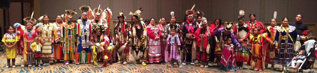 Dancers at the SACNAS Pow Wow