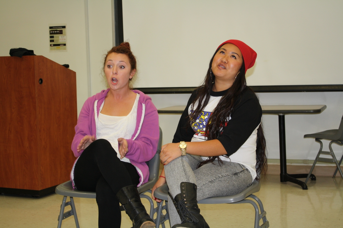 Picture of interACT Troupe Performing