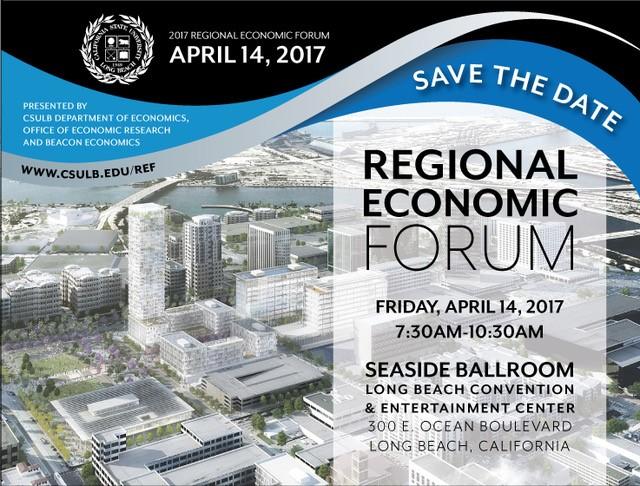 2017 Regional Economic Forum Save the Date