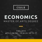 CSULB Master's in Economics