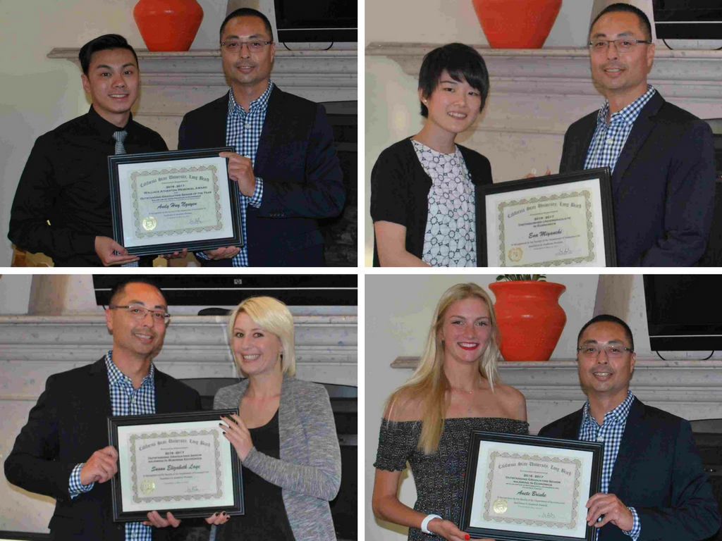 Photos of Awardees and Chair