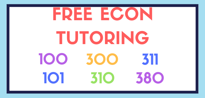 Free Econ Tutoring