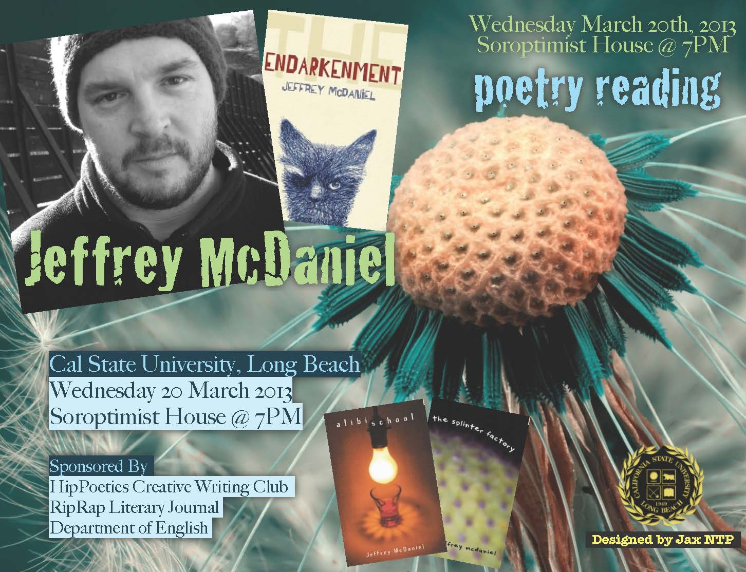 Jeff Mcdaniels Poetry Reading