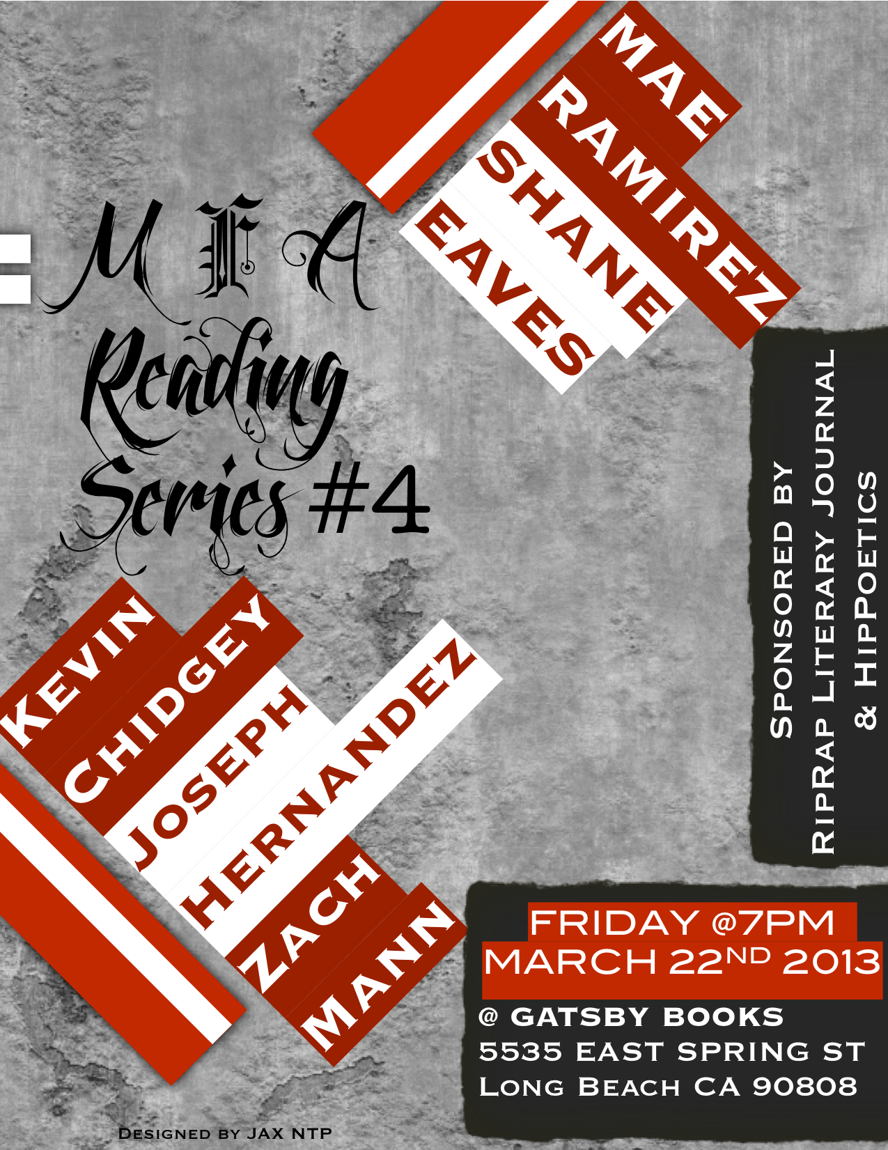 MFA Reading Series 4 (Ramirez and Eaves)