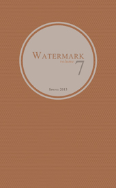 WATERMARK 2013 cover web small