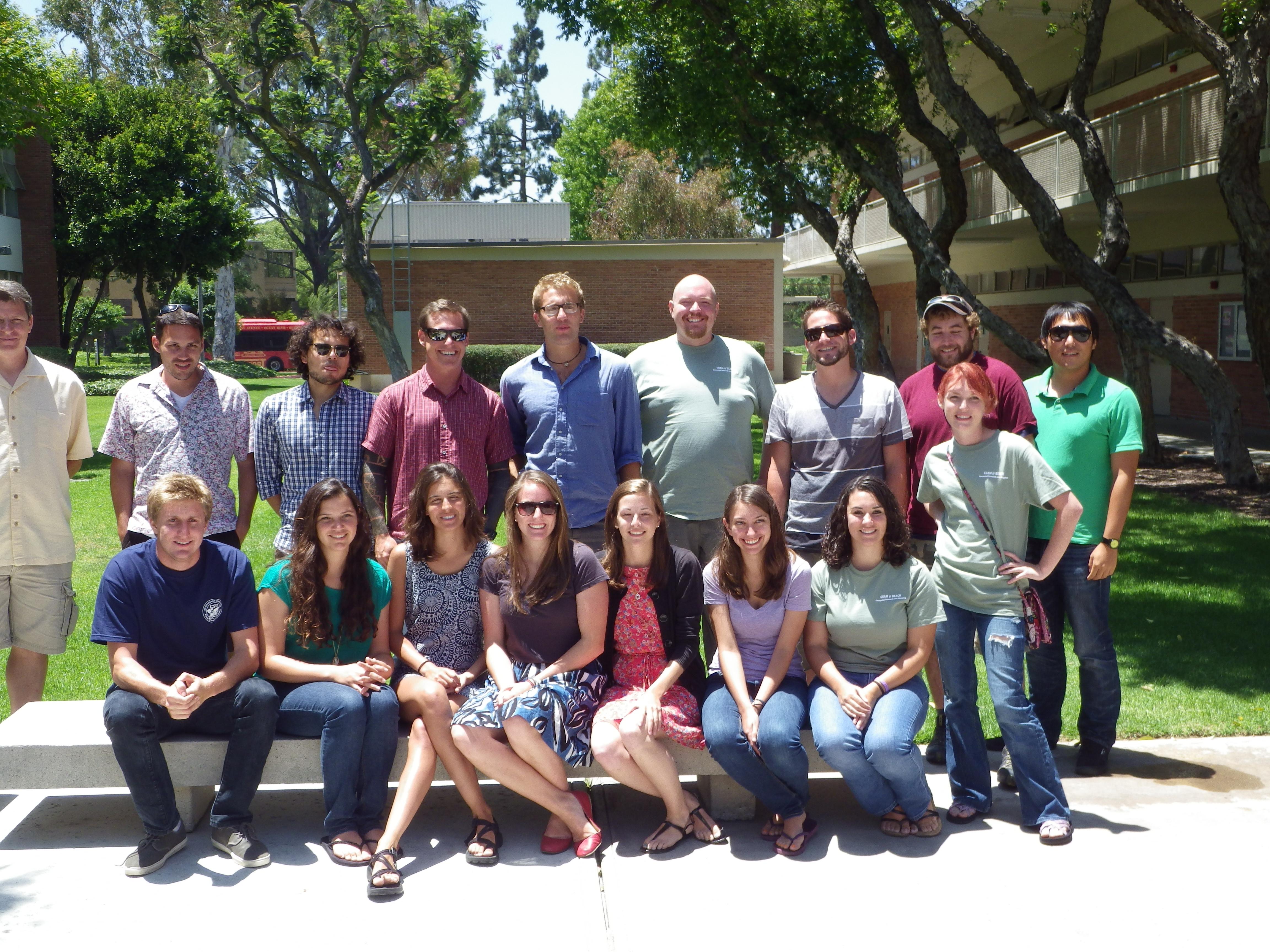 2012 GRAM NSF-REU Participants
