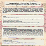 AAG Cartography Illustrated Paper Competition - Deadline October 21st