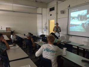 Saddleback students attending info session at CSULB Geography