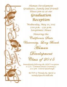 Grad Reception Invitation