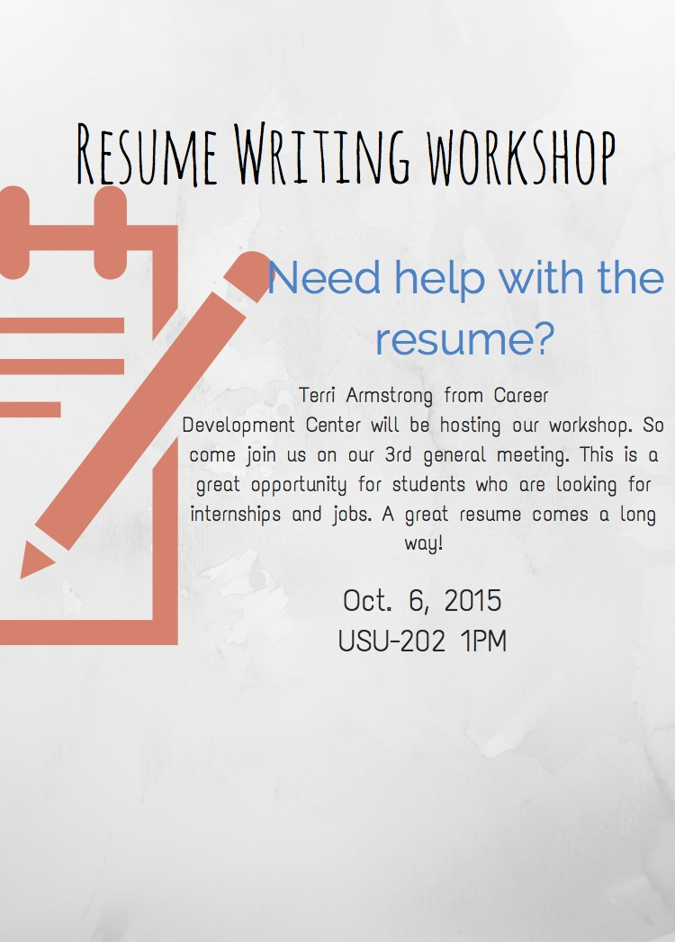 Resume workshop learning outcomes