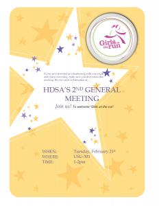 HDSA 2ND GENERAL MEETING