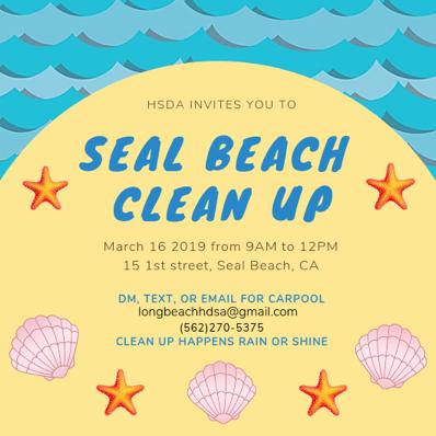 Spring 19- Seal beach clean up