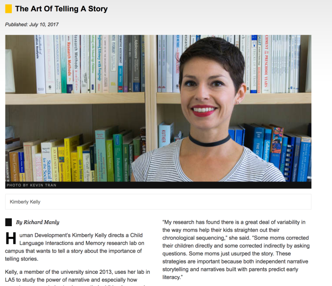Dr. Kim Kelly Featured in Inside CSULB! Click on the photo to learn more.