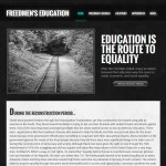 "Student work: ""Education is the Route to Equality"" Abstract"