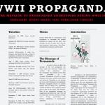 "Student work: ""World War II Propaganda"" Introduction"
