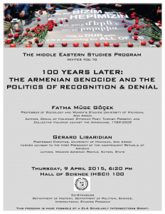 100 Years Later: The Armenian Genocide and the Politics of ...