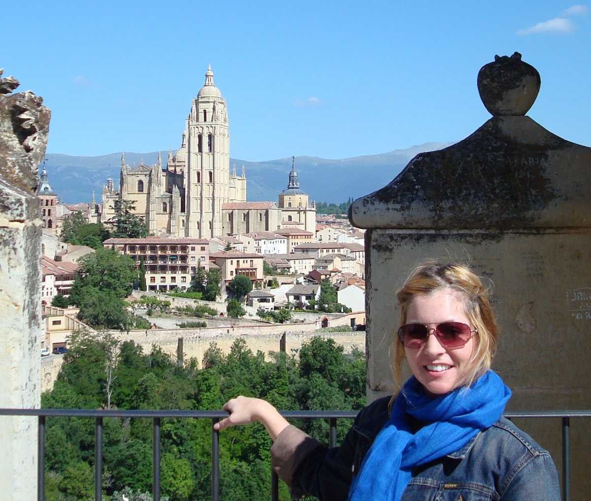 Berquist in Segovia, Spain