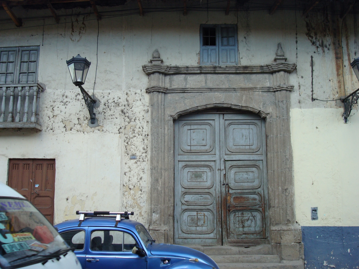 Berquist in Cajamarca, Peru