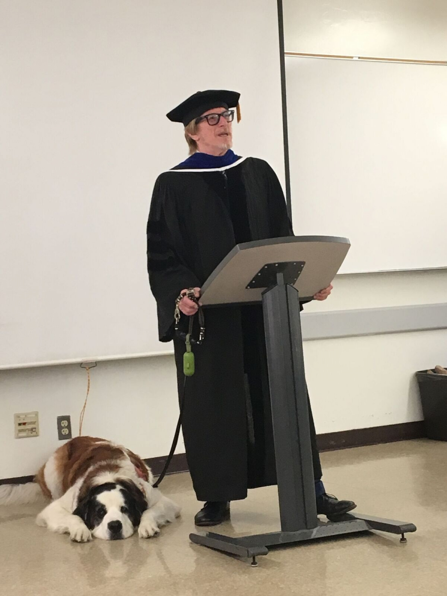 Dept.-Chair-and-Puppy-Professor