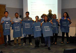 Students at the Graduate Students Symposium