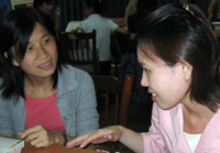 csulb student with chinese students