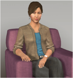 Ellie, a virtual human created at the University of Southern California Institute for Creative Technologies
