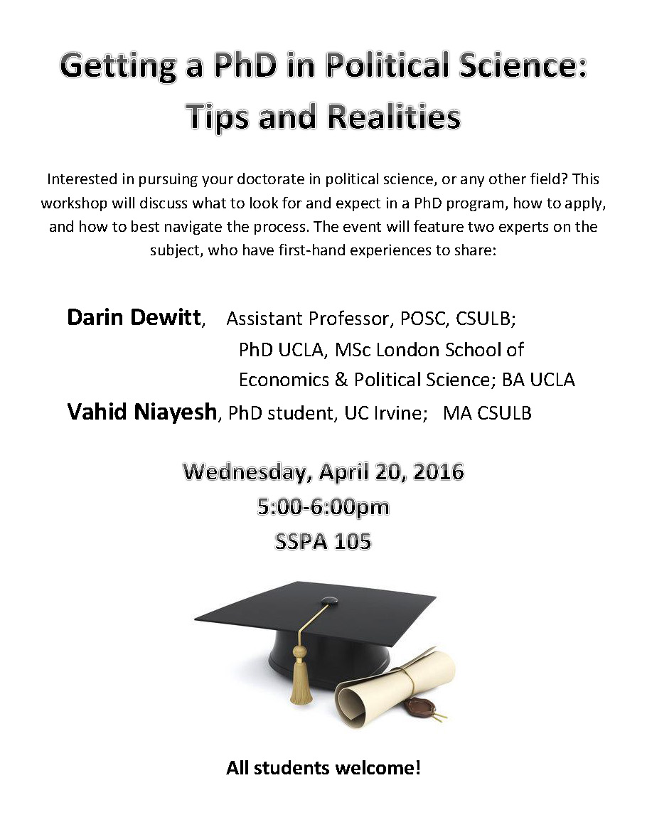 Getting Your PhD Flyer