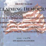 Teach-Ins: Reclaiming Democracy