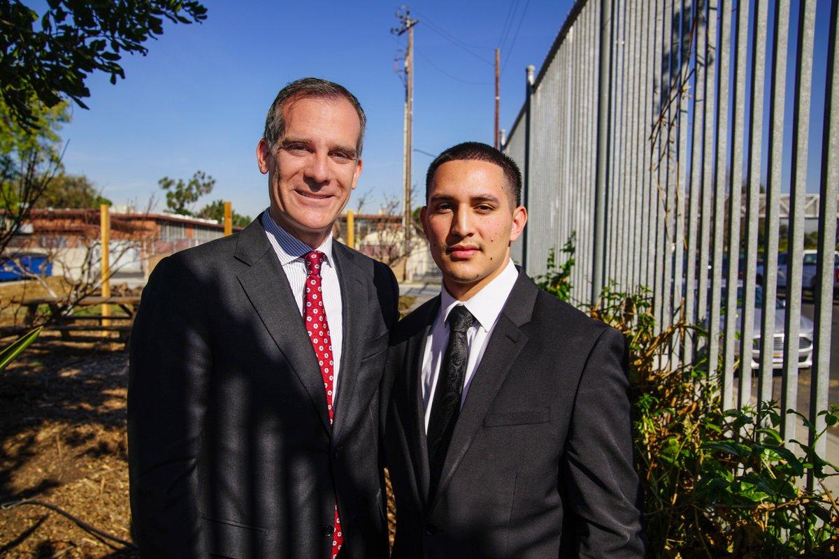Luis Flores Garcetti Internship