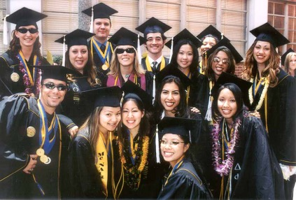 Graduating Psychology Students