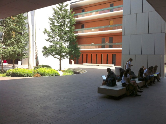 Psychology Courtyard