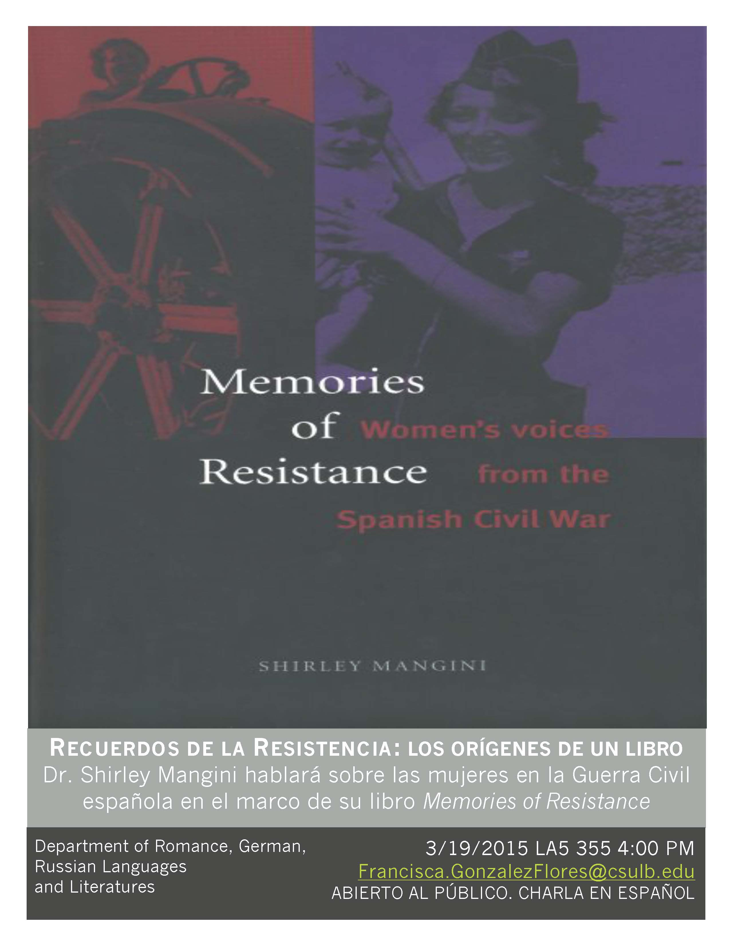 Memories of Resistance: Women\'s Voices from the Spanish Civil War ...