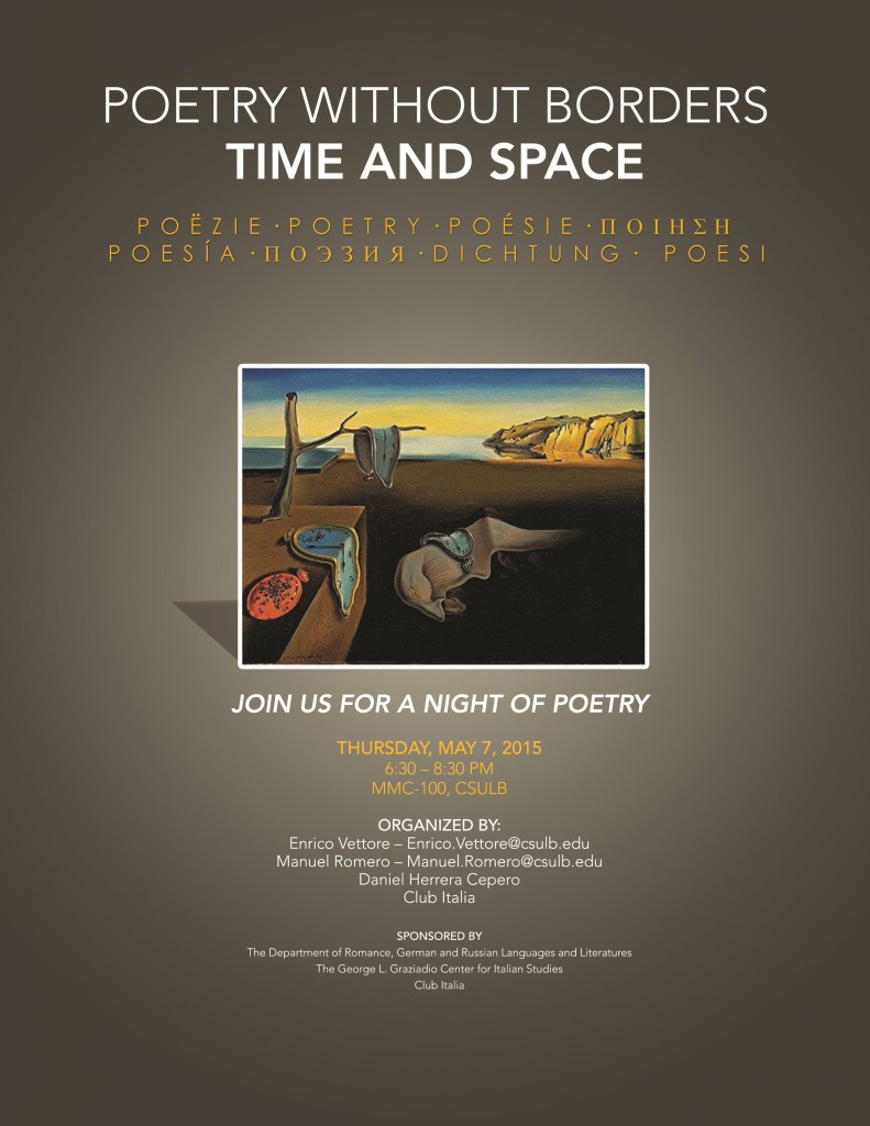 poetry and time