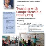 Teaching with Comprehensible Input (TCI): Language Acquisition through Storytelling