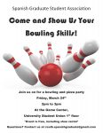 Bowling partyflier