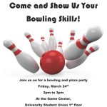 Spanish Graduate Student Association: Bowling & Pizza