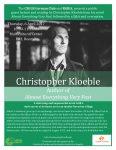 Christopher Kloeble poster