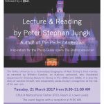 Lecture & Reading by Peter Stephan Jungk