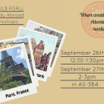 RGRLL Study Abroad Workshops